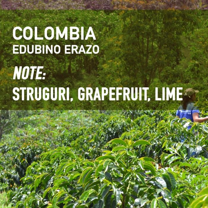 Colombia Edubino Erazo, Cafea de Specialitate